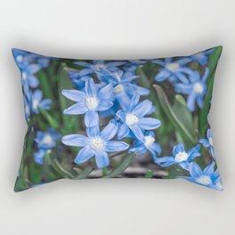 Easter Snow Glories Rectangular Pillow