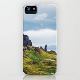 The Old Man Of Storr iPhone Case