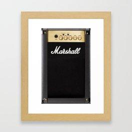 We are Marshall Framed Art Print