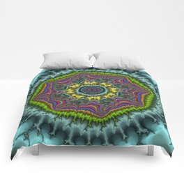 Fractal Agate Comforters