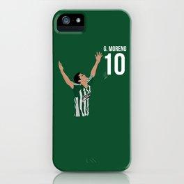 Gio Moreno - Atletico Nacional iPhone Case