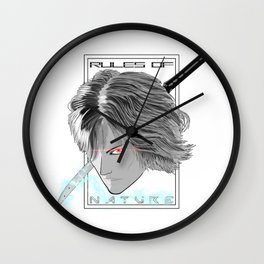 Rules Of Nature Wall Clock