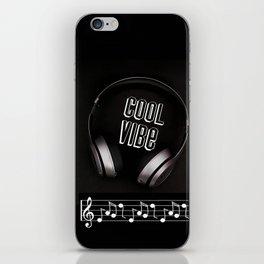 Cool Vibe 2 iPhone Skin