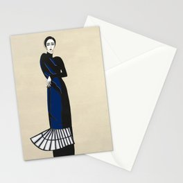 Henri Matisse inspired fashion #4 Stationery Cards