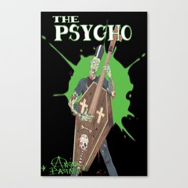 The Psycho Canvas Print