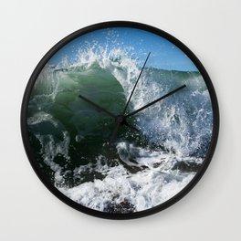 Breaking Point Wall Clock