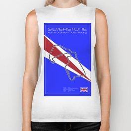Silverstone Racetrack Biker Tank
