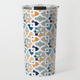 Geometric Pattern - Oriental Design Travel Mug