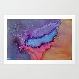 Lake Berryessa, Calif Art Print