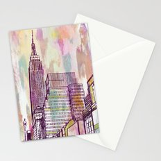 August Rain  Stationery Cards