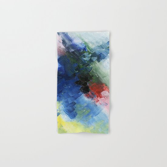 Abstract Clouds Hand & Bath Towel