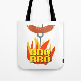 BBQ Bro Your Grill Party Bestie Tote Bag