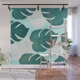 Palm leaves extravaganza Wall Mural