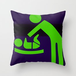 Very Bad Things Throw Pillow
