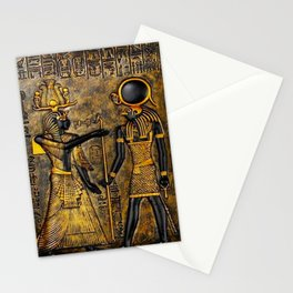 Egyptian Gods Stationery Cards