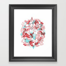 Space Deluxe Framed Art Print
