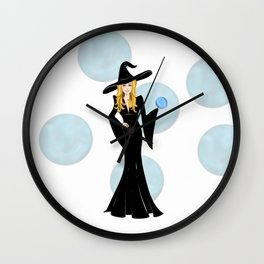 Witchy Chic Mystic Wall Clock