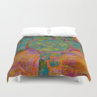 virgo Duvet Covers featuring Virgo by Fernando Vieira