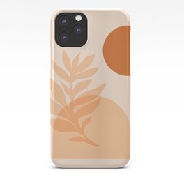 Abstraction_SUN_NATURE_Minimalism_001 iPhone Case