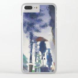 Trottoir miroir Clear iPhone Case