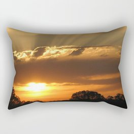 Sunshine Glow  Rectangular Pillow