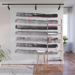abstract watercolor dots Wall Mural