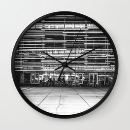 All the Lines Wall Clock