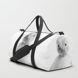 Black and White Duckling Duffle Bag