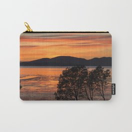Sunset Over the Flats Carry-All Pouch