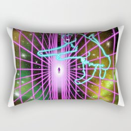 Kitties in space Rectangular Pillow