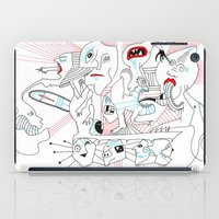 circus iPad Cases featuring CIRCUS by Vanja Cankovic