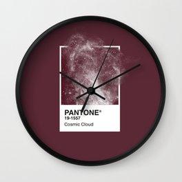Pantone Series – Cosmic Cloud #2 Wall Clock