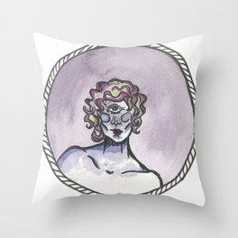 Cyclops Throw Pillow
