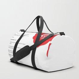 Root Chakra - Muladhara Art & Chart Duffle Bag