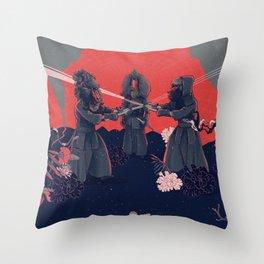 kendo Throw Pillow
