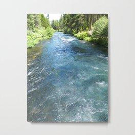 Metolius River Metal Print