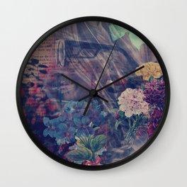 Skellie Girl Wall Clock