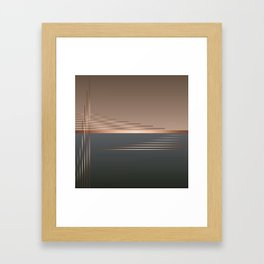 Bass gets you in the groin Framed Art Print