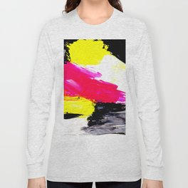 Funky colors abstract Long Sleeve T-shirt