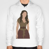 les miserables Hoodies featuring Eponine - Samantha Barks - Les Miserables minimalist with rain by Hrern1313