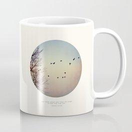 Caged Birds Coffee Mug