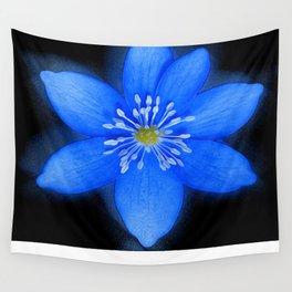 Blue Powder Wall Tapestry