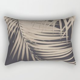Palm Leaves Sepia Vibes #1 #tropical #decor #art #society6 Rectangular Pillow