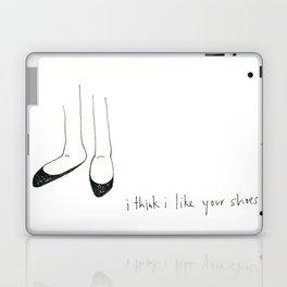 i think i like your shoes Laptop & iPad Skin