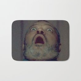 Scared Face Laurence Fishburn Bath Mat