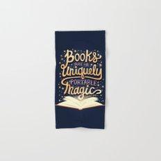 Books are magic Hand & Bath Towel