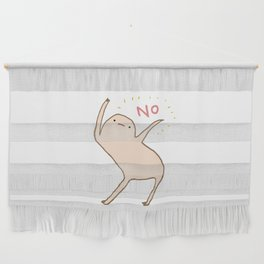 Honest Blob Says No Wall Hanging