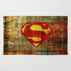 Super Man Rug