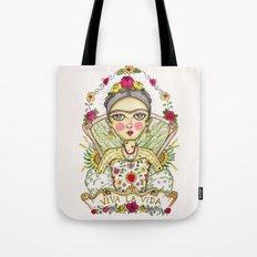 Frida Kahlo Viva la Vida Tote Bag