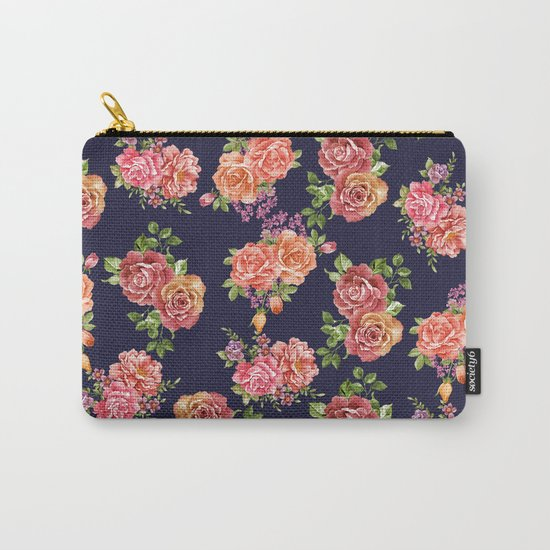 nature floral Carry-All Pouch